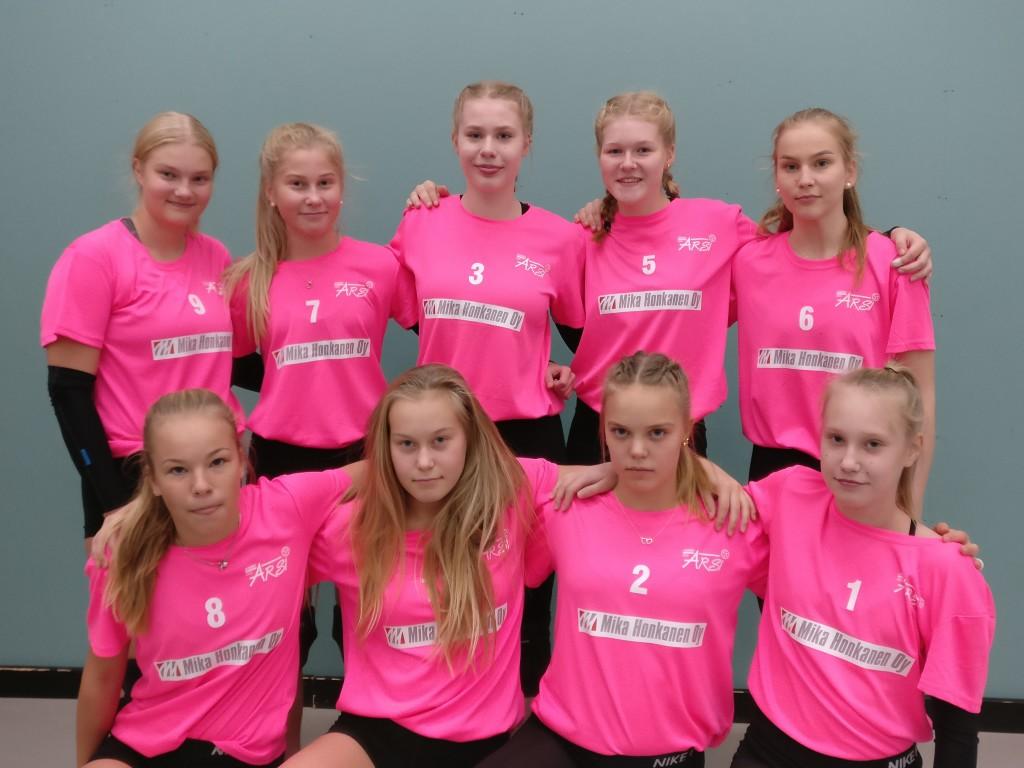 C1-tytöt kaudella 2018-2019